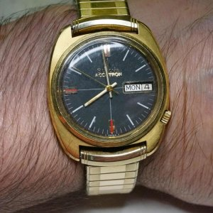 My first Accutron. Its a 2182 N0